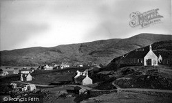 The Free Church And Village c.1960, Scalpay