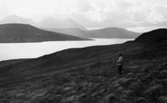 Scalpay, view towards Skye 1962