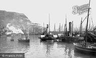 Scarborough, Castle Docks 1890