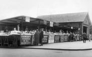 Scarborough, Fish Market c.1955