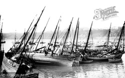 Scarborough, Fishing Boats 1890