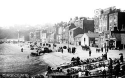 Scarborough, Foreshore Road 1890