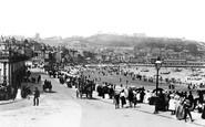 Scarborough, Foreshore Road 1891