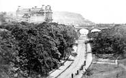 Scarborough, From Valley Bridge c.1860