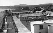 Scarborough, Holiday Chalets And North Bay c.1955