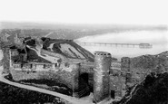 Scarborough, North Bay From The Castle 1891