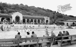 Scarborough, Open Air Swimming Bath, North Bay c.1950