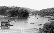 Scarborough, Peasholm Park c1955
