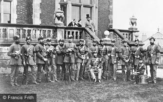 Scarborough, Scarborough Rifle Volunteers c1890