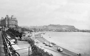 Scarborough, South Bay And The Grand Hotel c.1873