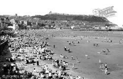 Scarborough, South Bay c.1955