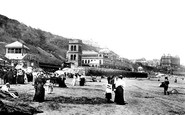 Scarborough, South Bay, The Sands 1897
