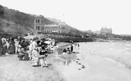 Scarborough, South Bay, The Sands c.1885