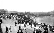 Scarborough, South Cliff, 'church Parade' 1897