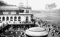 Scarborough, Spa Saloon 1890