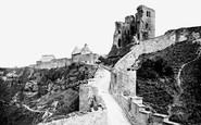Scarborough, The Castle 1890