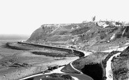 Scarborough, The Castle From North Bay c.1955