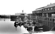 Scarborough, The Harbour c.1955
