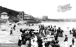 Scarborough, The Sands 1886