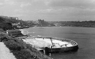 Scarborough, the South Bay Pool c1955