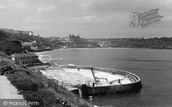 Scarborough, The South Bay Pool c.1955