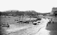 Scarborough, The Spa And South Cliff 1891