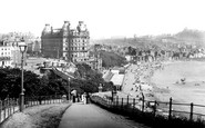 Scarborough, View From The Esplanade 1890