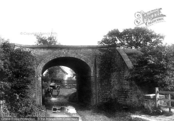 Photo of Scarning, Fen Bridge 1901