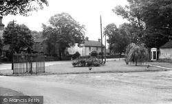 Scawby, Coronation Gardens c.1955