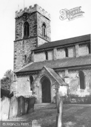 Scawby, St Hybald's Church c.1960