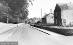 Scawby, Station Road c.1960