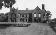 Scawby, the Hall c1960