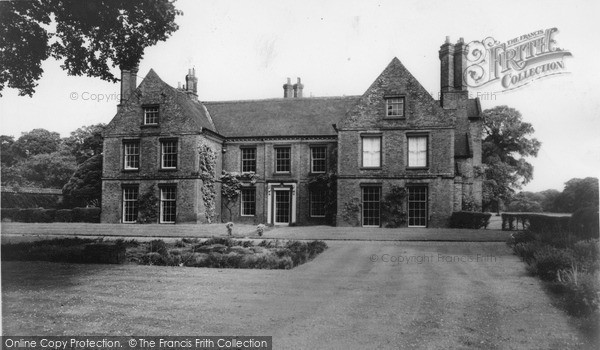 Photo of Scawby, the Hall c1960