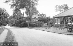 Scawby, Vicarage Lane c.1960