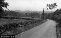 Scaynes Hill, Church Road c.1955