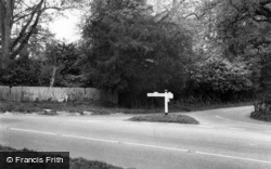 Scaynes Hill, Cudwell Cross c.1960