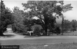 Scaynes Hill, Cudwells Cross Roads c.1955
