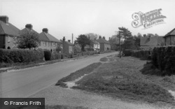 Scaynes Hill, Lewes Road c.1955, Scayne's Hill