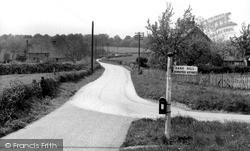 Scaynes Hill, Nash Lane And Butterbox c.1955