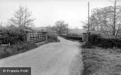 Scaynes Hill, The Bridge c.1960, Scayne's Hill