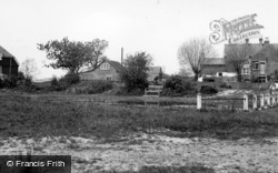 Scaynes Hill, The Pond c.1955