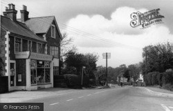 Scaynes Hill, The Post Office And Lewes Road c.1955