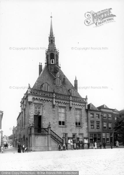 Photo of Schoonhoven, Town Hall c.1910