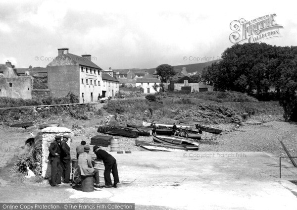 Photo of Schull, The Beach c.1955