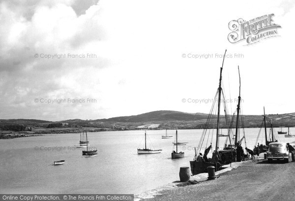 Photo of Schull, The Harbour c.1955