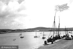 Schull, The Harbour c.1955