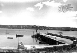 Schull, The Pier c.1955