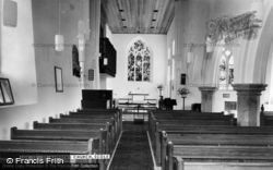Scole, St Andrew's Church Interior c.1965