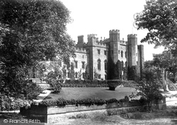 Scone, Palace, North West, And Queen Mary's Tree 1899