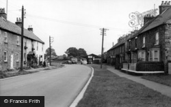 Scorton, The Village c.1960
